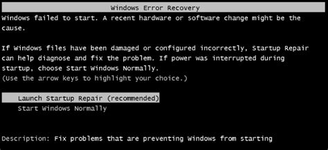 how to fix startup problems with the windows startup