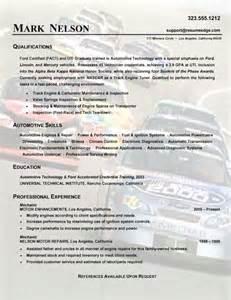 Automotive Mechanic Resume Sample automotive mechanic resume example sample