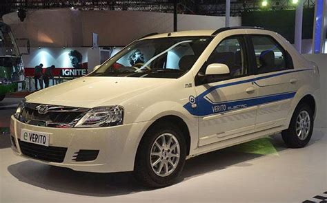 Mahindra Electric Car Price In Hyderabad Mahindra Launches E Verito Electric Sedan Prices Start At