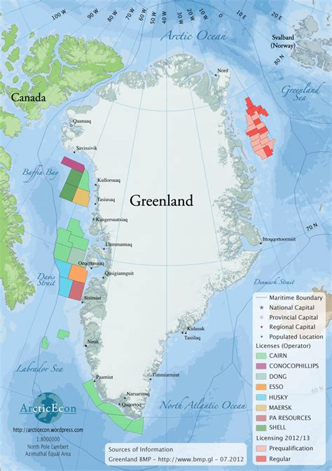 green land greenland arcticecon
