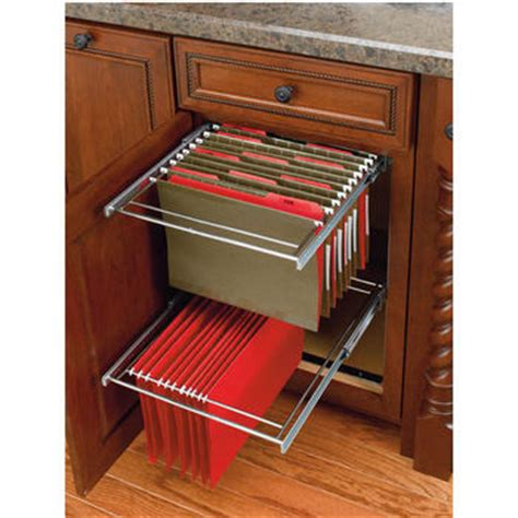 Kitchen Drawer Kits For Cabinets by Two Tier File Drawer System