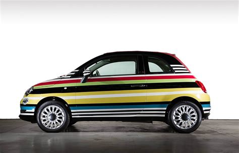 Fiat C500 by This One Of A Fiat 500c Missoni Edition Just Sold For