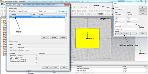 tutorial antenna web design cst microwave patch antenna tutorial download free