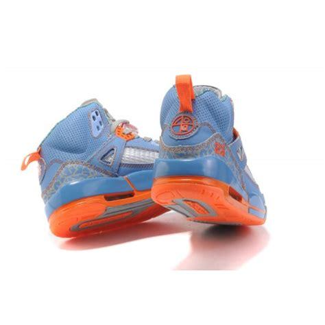 orange womens basketball shoes spizike basketball shoes blue grey orange a24043