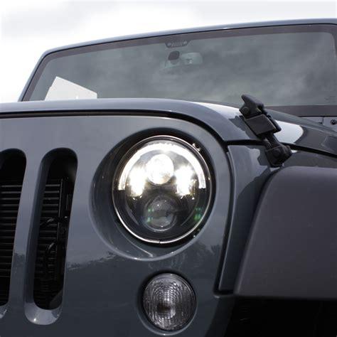 Jw Speaker Headlights Jeep Wrangler Jw Speaker Evolution 8700 J Series Led Headlight Kit With