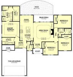 Floor Plan For A 940 Sq Ft Ranch Style Home 1000 Ideas About Ranch Floor Plans On Pinterest House