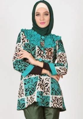 Tunik Batik 1 by 36 Model Tunik Batik Terbaru 2018 Modern Cantik