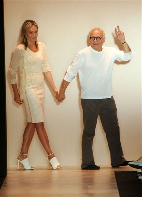 Designer Of The Year Herve Leger By Maz Azria by Lubov Azria Pictures Herve Leger By Max Azria Runway
