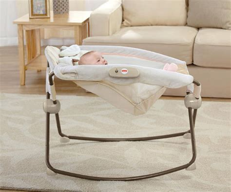 Fisher Price Side Sleeper by Fisher Price Snugapuppy Deluxe Newborn Rock N Play Sleeper Portable Sleep Seat With