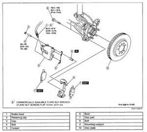 Service Electric Brake System Dodge Brake 2004 2009 Mazda3