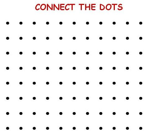 dot to dot box game printable connect the dot game inofations for your design