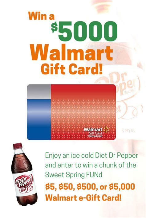 How To Win A Walmart Gift Card For Free - win a 5000 walmart gift card and more sweetfund coupons and deals savingsmania