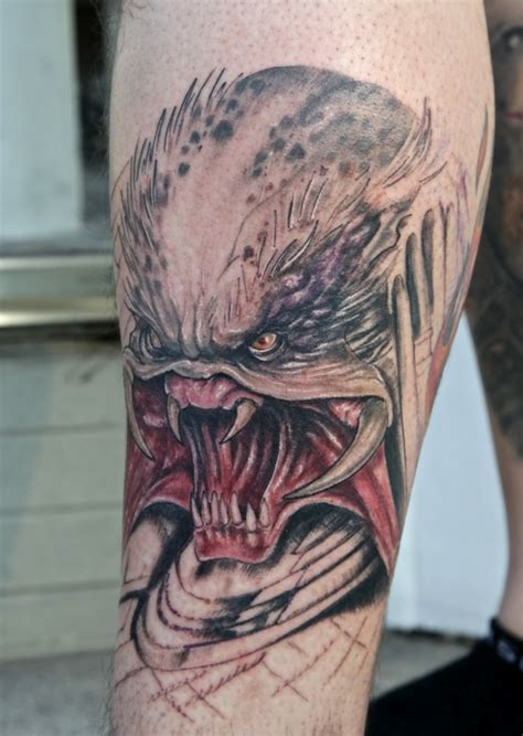 cing tattoos predator by graynd on deviantart
