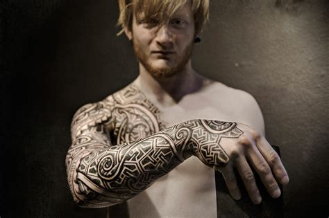 norse tribal tattoo tattoos by madsen meatshop