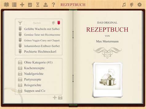 App Design Vorlage Rezeptbuch App Kochbuch App F 252 R Iphone Und Mac