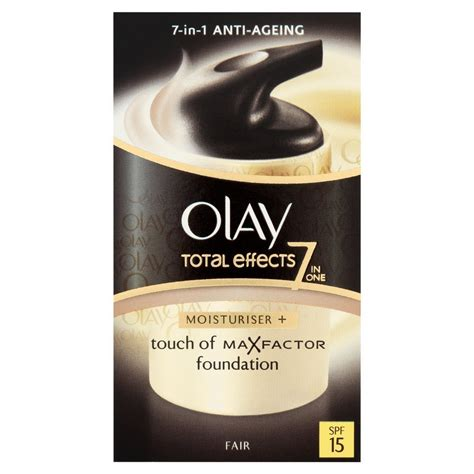Olay Total Effect Foundation 50ml olay total effects touch of max factor foundation