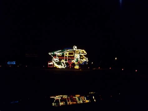 lights of at bristol motor speedway