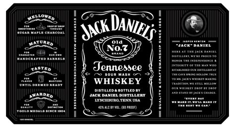 design jack daniels label david tucker design jack daniels
