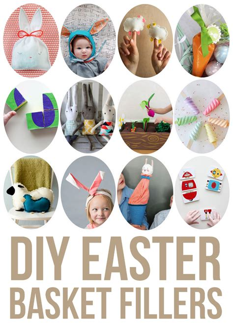 Handmade Filler Ideas - diy easter basket fillers up