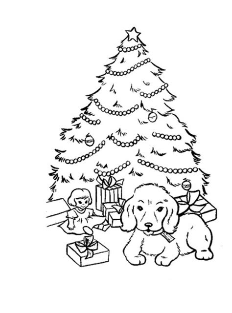 Christmas Tree Coloring Sheets 2017 Dr Odd Decorated Tree Coloring Page