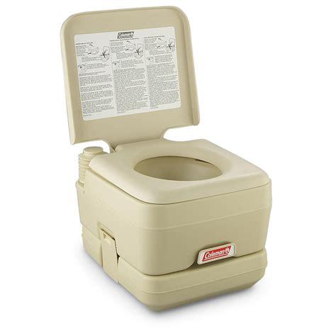 coleman toilet coleman 174 portable toilet 177421 portable toilets