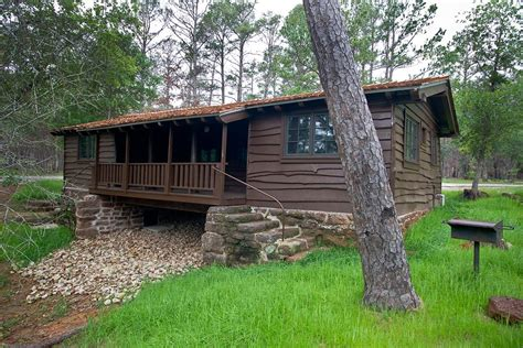 Ink Lake Cabins by Bastrop State Park Cabin 6 Parks Wildlife