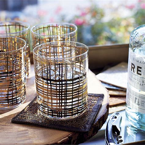 crate and barrel barware festive barware for fall entertaining home design