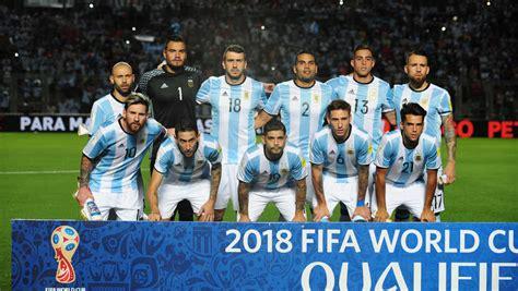 argentina 2018 team squad fixtures live kit