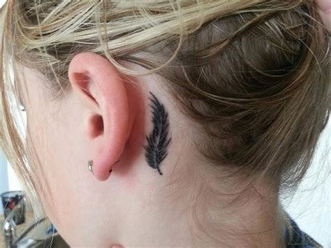 small tattoo behind ear cost 90 leaf tattoos that celebrate the fall