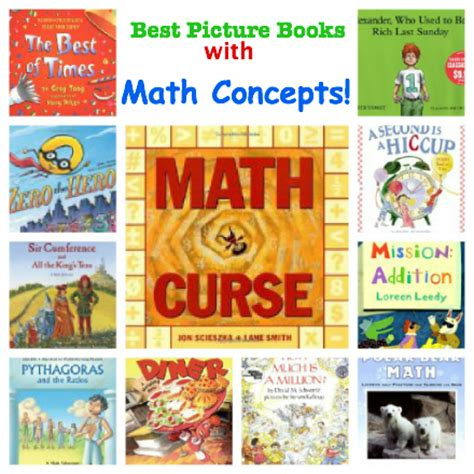 picture books about math great books the children s bookshelf