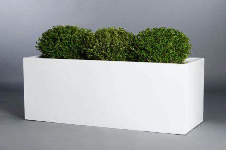 pflanzkübel fiberglas grau pflanztrog innen 120 bestseller shop