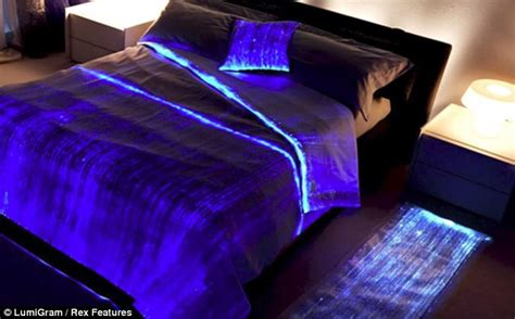 glow in the dark bedding the 163 320 bedspread that lights up in the dark but