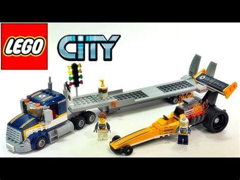 Produk Istimewa Lego City 60151 Dragster Transporter 레고 시티 60151 드랙스터 수송차 상황극 놀이 리뷰 lego city dragster transporter review