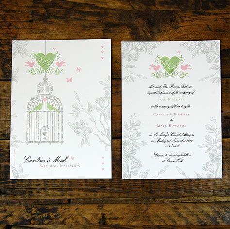 Back Of Wedding Invitation