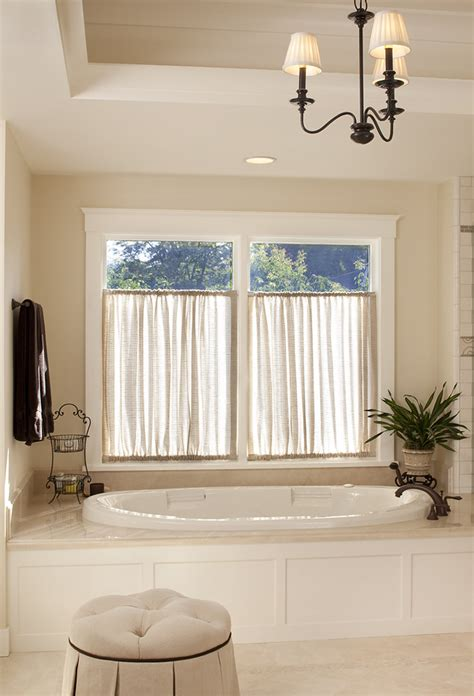Bathroom Window Decorating Ideas Spectacular Curtain Window Treatments Decorating Ideas Gallery In Bathroom Traditional Design Ideas