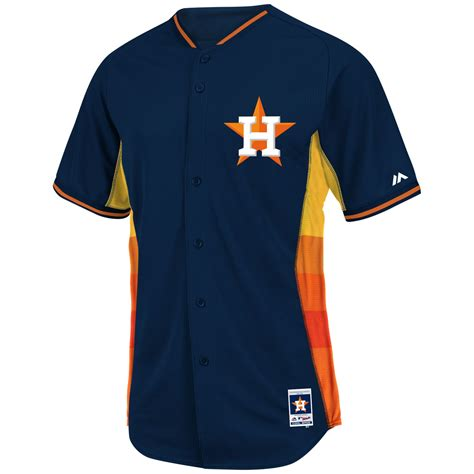 design practice jersey majestic mens houston astros cool base bp jersey in blue