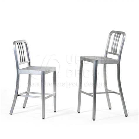 Navy Bar Stool Replica by Navy Bar Stool Replica 2pcs