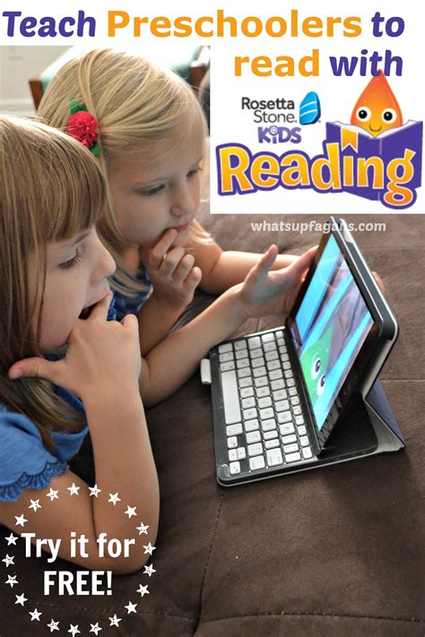 rosetta stone kids teaching preschoolers to read with rosetta stone kids
