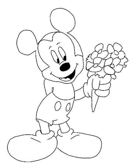 colouring pages mickey mouse face free coloring pages of mickey mouse face mmickey