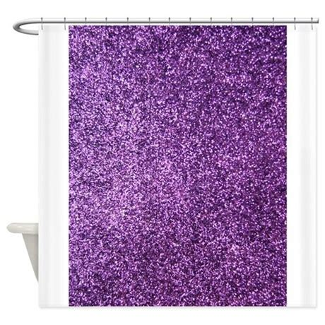 purple sequin shower curtain purple faux glitter shower curtain by inspirationzstore