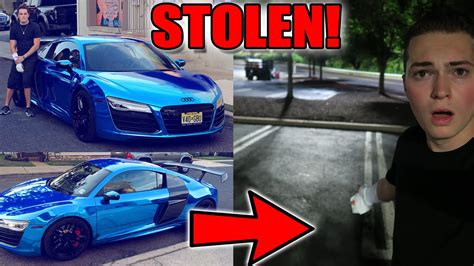 lance stewart audi r8 someone stole my car audi r8 v10 supercar youtube