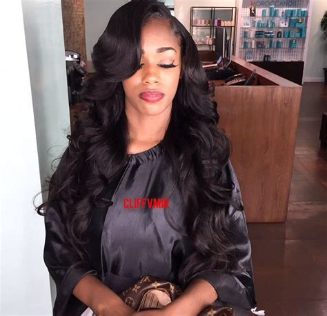 Side Part Sew In Hairstyles by 1000 Images About Sew Ins On Wand Curls