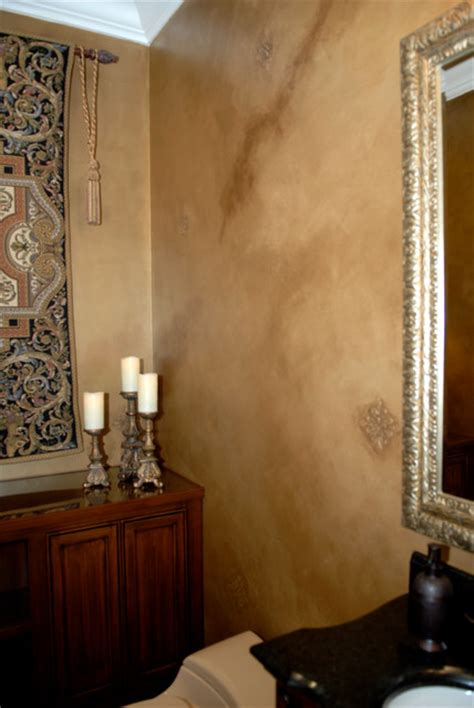 wall faux finishes traditional bathroom san