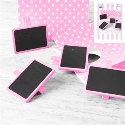 Mini Blackboard Pink mini pink blackboards pk 4 chalkboards shindigs au
