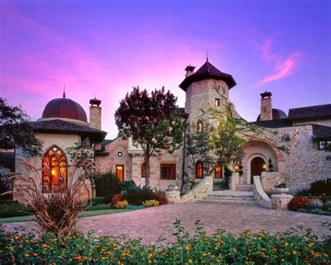 Backyard Austin Tx The Castle In The Woods In Austin Texas For Sale