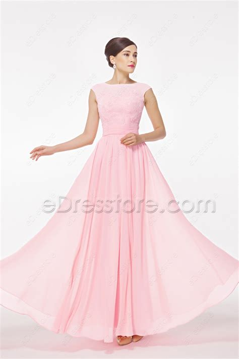 light pink bridesmaid dresses modest light pink bridesmaid dress cap sleeves