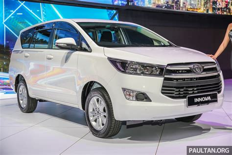Home Interior Colours New Toyota Innova Launched In Malaysia From Rm106k 7