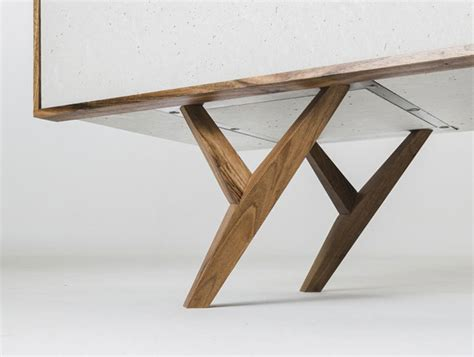 Kitchen Island Bases furniture design inspired by concrete interiorzine