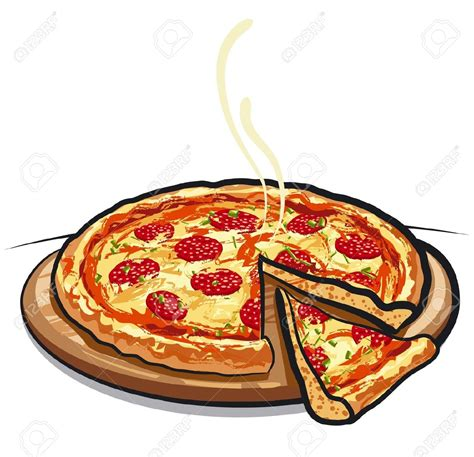 Pizza Clipart Vector   clipartsgram.com