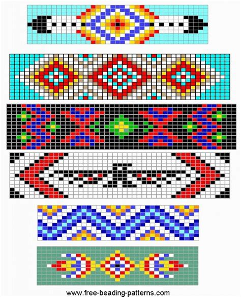 bead design loom bracelets patterns loom beading bracelet patterns